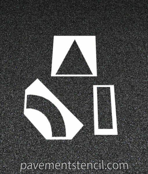 Arrow stencil kit