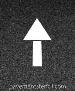 Chick-fil-a straight arrow stencil