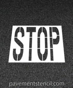 COSTCO Stop stencil