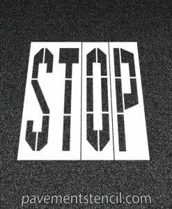 Walmart stop stencil