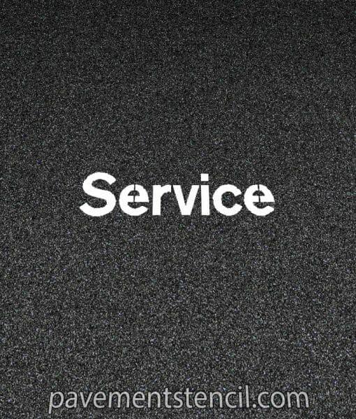 NISSAN service stencil