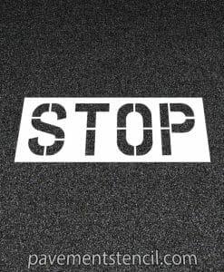Walgreens stop stencil