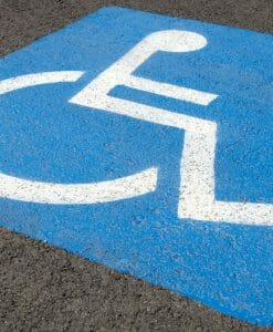 Handicap Parking Symbols