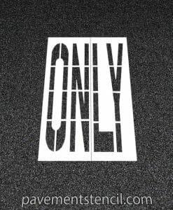 DOT only stencil
