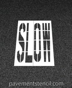 DOT Slow stencil