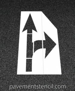 Amazon combination arrow stencil