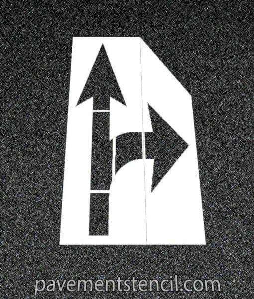 Amazon combination arrow stencil