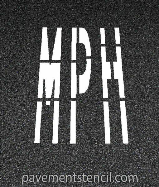 Amazon MPH stencil