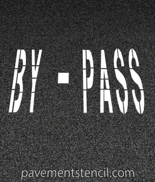 Amazon by pass stencil