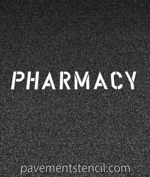 CVS Pharmacy stencil