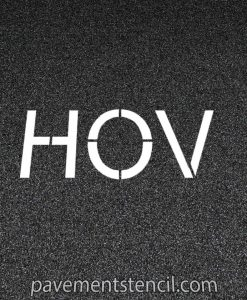 "Amazon 24"" HOV stencil"