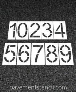 "Amazon 24"" number stencils"