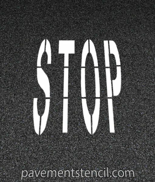 Amazon stop stencil