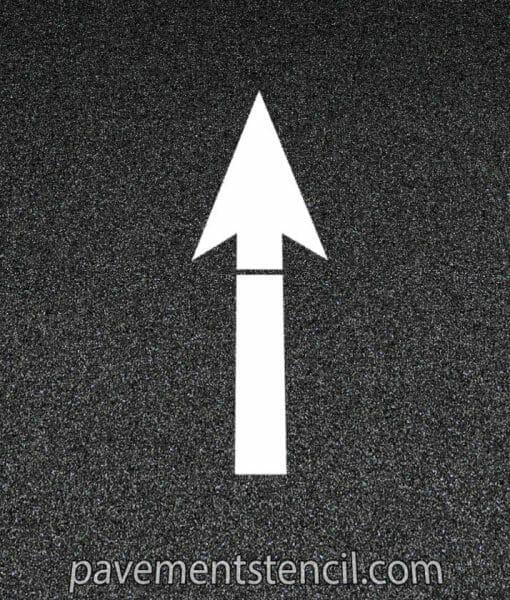 Amazon straight arrow stencil