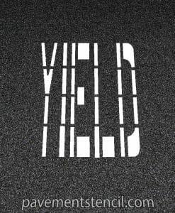 DOT yield stencil