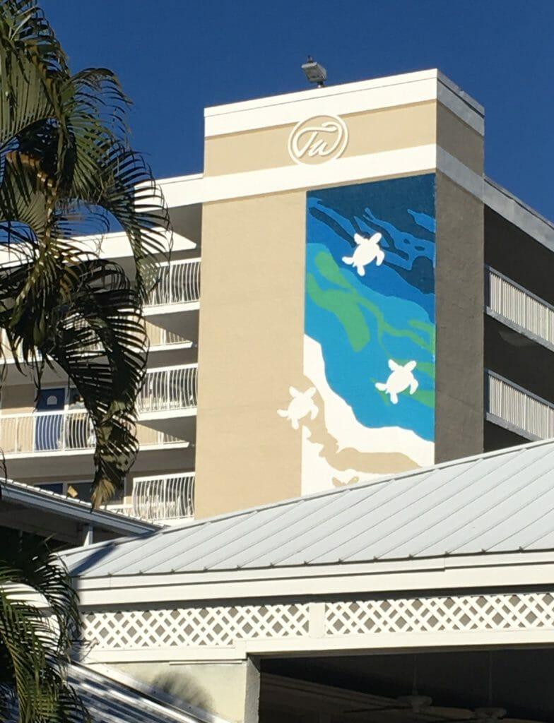 Custom Hotel Stencil