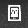 McDonalds curbside app stencil