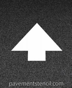 Kroger arrow stencil