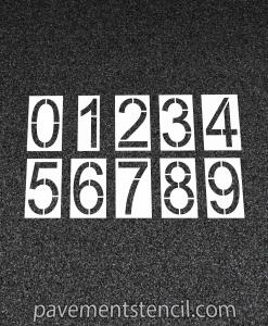 Kroger Click List pick up number stencils