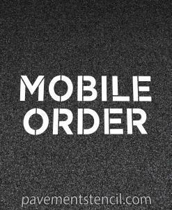 Chipotle mobile order stencil